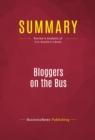 Summary: Bloggers on the Bus : Review and Analysis of Eric Boehlert's Book - eBook