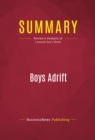 Summary: Boys Adrift : Review and Analysis of Leonard Sax's Book - eBook
