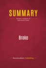 Summary: Broke : Review and Analysis of Glenn Beck's Book - eBook