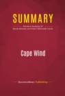 Summary: Cape Wind : Review and Analysis of Wendy Williams and Robert Whitcomb's Book - eBook