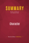 Summary: Character : Review and Analysis of Chris Wallace's Book - eBook
