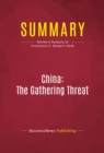 Summary: China: The Gathering Threat : Review and Analysis of Constantine C. Menges's Book - eBook