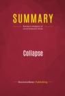 Summary: Collapse : Review and Analysis of Jared Diamond's Book - eBook