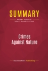Summary: Crimes Against Nature : Review and Analysis of Robert F. Kennedy, Jr.'s Book - eBook