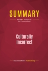 Summary: Culturally Incorrect : Review and Analysis of Rod Parsley's Book - eBook