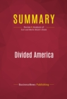 Summary: Divided America : Review and Analysis of Earl and Merle Black's Book - eBook