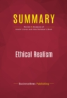 Summary: Ethical Realism : Review and Analysis of Anatol Lieven and John Hulsman's Book - eBook
