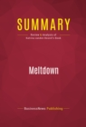 Summary: Meltdown : Review and Analysis of Katrina vanden Heuvel's Book - eBook