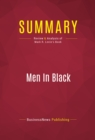 Summary: Men In Black : Review and Analysis of Mark R. Levin's Book - eBook
