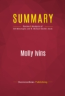 Summary: Molly Ivins : Review and Analysis of Bill Minutaglio and W. Michael Smith's Book - eBook