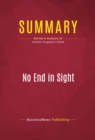 Summary: No End in Sight : Review and Analysis of Charles Ferguson's Book - eBook