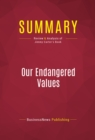 Summary: Our Endangered Values : Review and Analysis of Jimmy Carter's Book - eBook