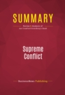 Summary: Supreme Conflict : Review and Analysis of Jan Crawford Greenburg's Book - eBook