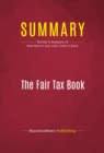 Summary: The Fair Tax Book : Review and Analysis of Neal Boortz and John Linder's Book - eBook