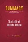 Summary: The Faith of Barack Obama : Review and Analysis of Stephen Mansfield's Book - eBook