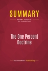 Summary: The One Percent Doctrine : Review and Analysis of Ron Suskind's Book - eBook
