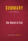 Summary: The World Is Flat : Review and Analysis of Thomas L. Friedman's Book - eBook