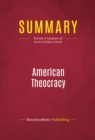 Summary: American Theocracy : Review and Analysis of Kevin Phillips's Book - eBook