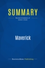 Summary: Maverick : Review and Analysis of Semler's Book - eBook