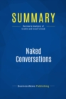 Summary: Naked Conversations : Review and Analysis of Scoble and Israel's Book - eBook