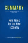 Summary: New Rules for the New Economy : Review and Analysis of Kelly's Book - eBook