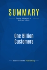 Summary: One Billion Customers : Review and Analysis of McGregor's Book - eBook