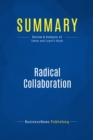 Summary: Radical Collaboration : Review and Analysis of Tamm and Luyet's Book - eBook