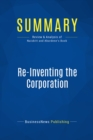Summary: Re-Inventing the Corporation : Review and Analysis of Naisbitt and Aburdene's Book - eBook