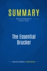 Summary: The Essential Drucker : Review and Analysis of Drucker's Book - eBook