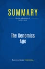 Summary: The Genomics Age : Review and Analysis of Smith's Book - eBook