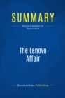 Summary: The Lenovo Affair : Review and Analysis of Zhijun's Book - eBook