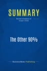 Summary: The Other 90% : Review and Analysis of Cooper's Book - eBook
