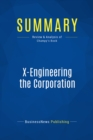 Summary: X-Engineering the Corporation : Review and Analysis of Champy's Book - eBook