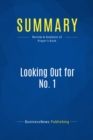 Summary: Looking Out for No. 1 : Review and Analysis of Ringer's Book - eBook