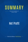 Summary: Net Profit : Review and Analysis of Cohan's Book - eBook