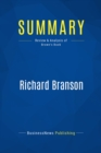 Summary: Richard Branson : Review and Analysis of Brown's Book - eBook