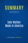 Summary: Sam Walton: Made In America : Review and Analysis of Walton and Huey's Book - eBook