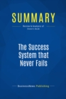 Summary: The Success System that Never Fails : Review and Analysis of Stone's Book - eBook