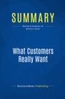 Summary: What Customers Really Want : Review and Analysis of McKain's Book - eBook