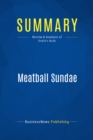 Summary: Meatball Sundae : Review and Analysis of Godin's Book - eBook
