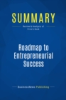 Summary: Roadmap to Entrepreneurial Success : Review and Analysis of Price's Book - eBook