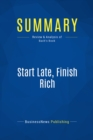 Summary: Start Late, Finish Rich : Review and Analysis of Bach's Book - eBook