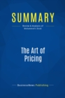 Summary: The Art of Pricing : Review and Analysis of Mohammed's Book - eBook