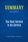Summary: The Best Service Is No Service : Review and Analysis of Price and Jaffe's Book - eBook