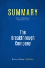Summary: The Breakthrough Company : Review and Analysis of Macfarland's Book - eBook