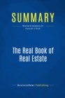 Summary: The Real Book of Real Estate : Review and Analysis of Kiyosaki's Book - eBook