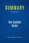 Summary: The Sandler Rules : Review and Analysis of Mattson's Book - eBook
