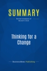 Summary: Thinking for a Change : Review and Analysis of Maxwell's Book - eBook