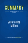 Summary: Zero to One Million : Review and Analysis of Allis' Book - eBook