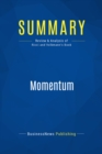 Summary: Momentum : Review and Analysis of Ricci and Volkmann's Book - eBook
